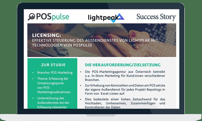 Success Story Tracking bei Lightpeak